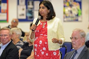Fareham MP, Suella Braverman, voted against the amendment to extend abortion access to Northern Ireland.''Picture: Ian Hargreaves  (070619-6)