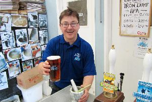 Irving Brewery is competing to be named the best in the country. Picture: Mark Acheson