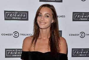 Emily Hartridge at the launch of Friendsfest at The Boiler House,The Old Truman Brewery, on September 15, 2015. Picture: Anthony Harvey/Getty Images