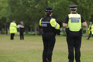 Heavy police presence in the run up to the D Day commemorations on Southsea Sea Front.''Picture: Ian Hargreaves  (310519-1)'portsmouth news breaking