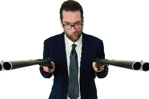 Gary Delaney's show Gagster's Paradise is at the New Theatre Royal on July 18. Photo by Andy Hollingworth.