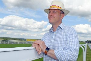 Goodwood racecourse manager Alex Eade / Picture by Malcolm Wells