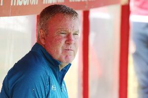 Kenny Jackett saw his side win 1-0 at Stevenage on Saturday, now they face a Brighton XI in a fixture under wraps. Picture: Joe Pepler