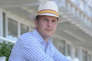 Goodwood racecourse manager Alex Eade. Picture: Kate Shemilt