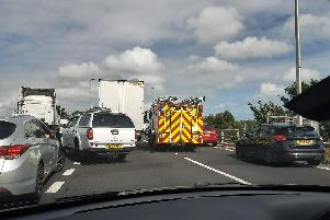 Emergency services have been called to the scene. Picture: Davey Anscombe