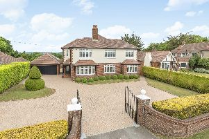 This five bedroom home in Cosham is on the market for 1.295 million.