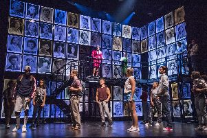 A scene from Fame The Musical Tour. Picture: Tristram Kenton.