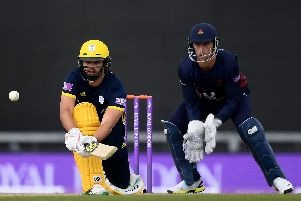 Hampshire batsman Rilee Rossouw. Picture: Alex Davidson/Getty Images