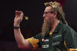 Simon Whitlock. Picture: Lawrence Lustig/PDC
