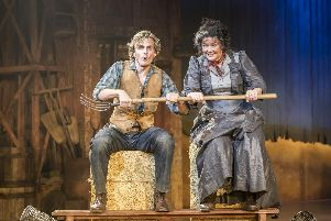 Oklahoma at the Chichester Festival Theatre. Picture: Johan Persson