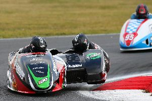 Ricky Stevens and Ryan Charlwood were back on track at Snetterton. Picture: Tim Keeton/Impact Images