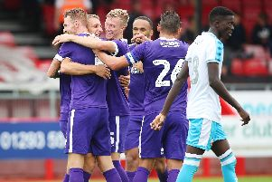 Portsmouth players in pre-season