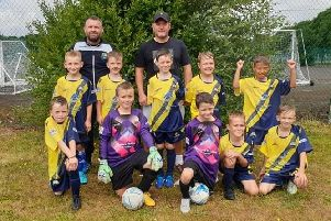 Gosport Borough Whites under 9 team will be taking on a sponsored walk from Privett Park to Fratton Park to raise funds for a tournament in Holland