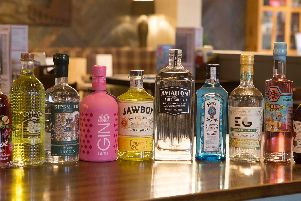 The gin festival will include spirits from around the world.