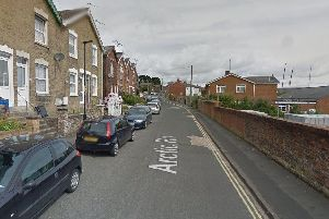 The assault happened in Arctic Road, Isle of Wight. Picture: Google Maps