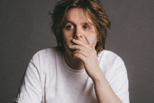 Lewis Capaldi gets pensive. Picture by Virgin EMI/PA