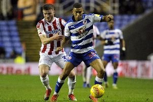 Andy Rinomhota in action for Reading against Stoke last season  Picture: Alex Burstow/Getty Images