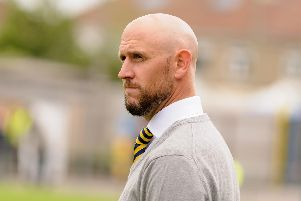 Gosport manager Lee Molyneaux   Picture: Duncan Shepherd