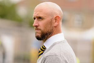 Gosport Borough manager Lee Molyneaux. Picture: Duncan Shepherd