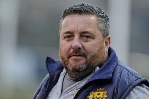 Moneyfields manager Dave Carter