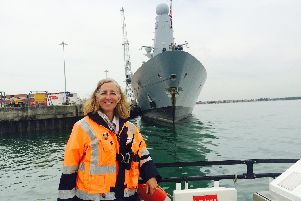 Rachel Dunn has received the Merchant Navy Meritorious Service Medal for her role as Admiralty Pilot.