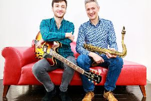 Rob Luft and Dave O'Higgins are at Chichester Jazz Club on September 6.