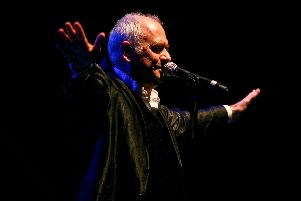 """Spike Edney, Queen's """"fifth man"""", and founder of Spike's All-Stars Band, live on stage. Picture by Marty Moffatt"""