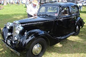 Inset, a preserved Sunbeam Talbot as seen in the 1949 photograph of the Dell. Picture: Steve Daly
