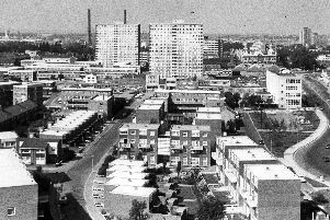View from Edgbaston House in September 1975
