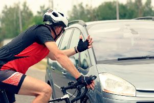 There are many near misses between cyclists and drivers on the roads. Picture: Shutterstock.