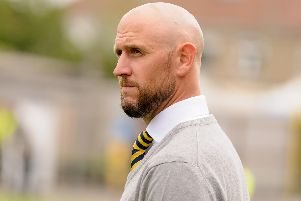 Lee Molyneaux's Gosport Borough are out of the FA Cup. Picture: Duncan Shepherd