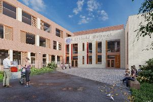 An artist's impression of how the new Mayfield School in Copnor could look. Picture from Novian Architects