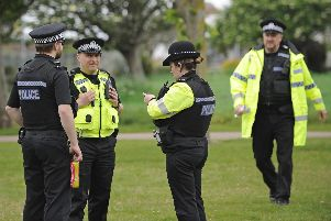 File photo of police in Southsea. Picture: Ian Hargreaves  (310519-11)