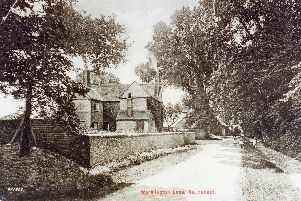 Here we see a view down Warblington Lane, but what is it called today? Photo: Ralph Cousins collection