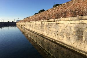 Long Curtain Moat to benefit from heritage and maintenance work