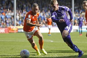 Andy Cannon was handed his fourth start of the season in Pompey's 1-1 draw at Blackpool. Picture: Paul Thompson/ProSportsImages/Pi
