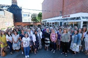 Alumnae reunion, Portsmouth High School, Southsea. Picture: Chris Moorhouse     (140919-13)