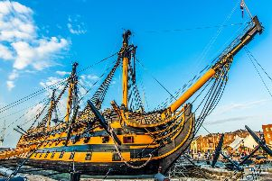 Visitors are set to get a completely new view of HMS Victory at Portsmouth Historic Dockyard