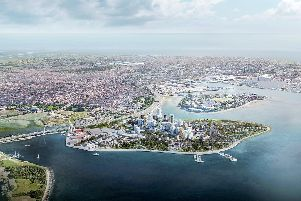 How Tipner West could look if the city council's plans are approved. Picture: Portsmouth City Council