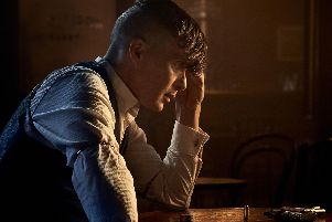 Cillian Murphy as Tommy Shelby in Peaky Blinders.