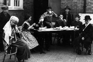Children from Stockheath Junior School, Bedhampton, performing Shrimps For Tea in 1953. Picture: The News archive.