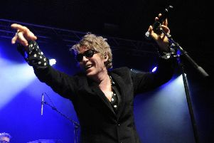 The Psychedelic Furs were at the Pyramids, Southsea, last night.