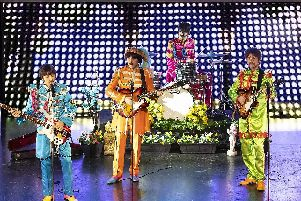 All You Need Is Love were at the Portsmouth Guildhall last night.