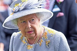 The Queen pictured at the Royal Ascot this year.  Photo: Malcolm Wells (190620-0585)