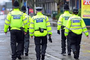 Eight officers from Hampshire police and a civilian worker are to be investigated for gross misconduct. Photo posed by models.