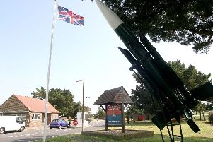 Buildings at Baker Barracks, on Thorney Island, have been blighted by problems. Now the army has confirmed that the Warrant Officers and Sergeants' Mess has been partially closed due to faulty electrics.