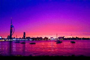 View from Esplanade du Royan, Gosport. Picture: Ray Allen