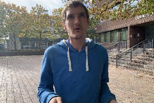Aaron Fergusson, 32, of Queens Grove, in Waterlooville, admitted sexual assault and was handed a suspended prison sentence at Portsmouth Crown Court.