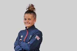 Rebecca Barron is ready to compete for Team GB on the international stage. Picture: Garry Bowden/SIPPA