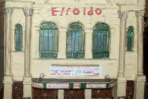 Another model of a Portsmouth cinema from the hands of David Barber, the Essoldo formerly the Majestic.